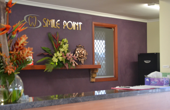 SmilePoint Reception