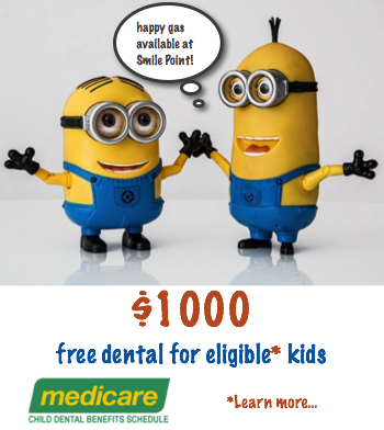 Medicare Child Dental Benefits Scheme offers financial support for basic dental services for children aged 2–17 upto $1000 every 2 years.
